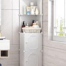 Напольная стойка Белый Шкаф для хранения угловой шкаф для столика с раковиной боковой шкаф спальня на полку кухонного шкафа мебель для гостиной B538