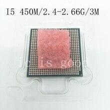 Процессор I5 450 M i5 450 M 3 M кэш 2,4 ГГц для ноутбука процессор процессора I5-450M может работать