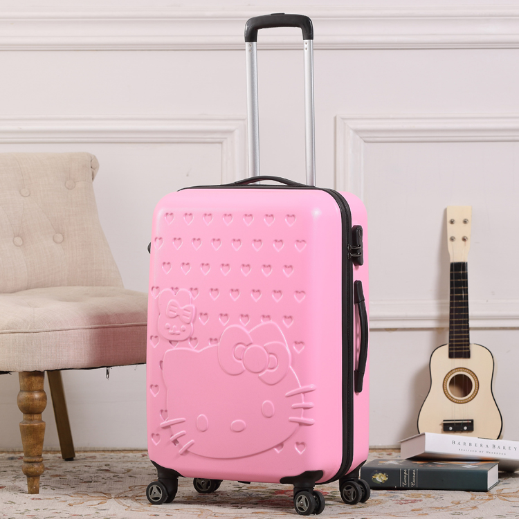Hellokitty trolley luggage travel bag ,20,24,28 Inch,Spinner Wheel ABS Luggage,Travel Suitcase,Hardside Luggage,Rolling Luggage - Twins shop91 store