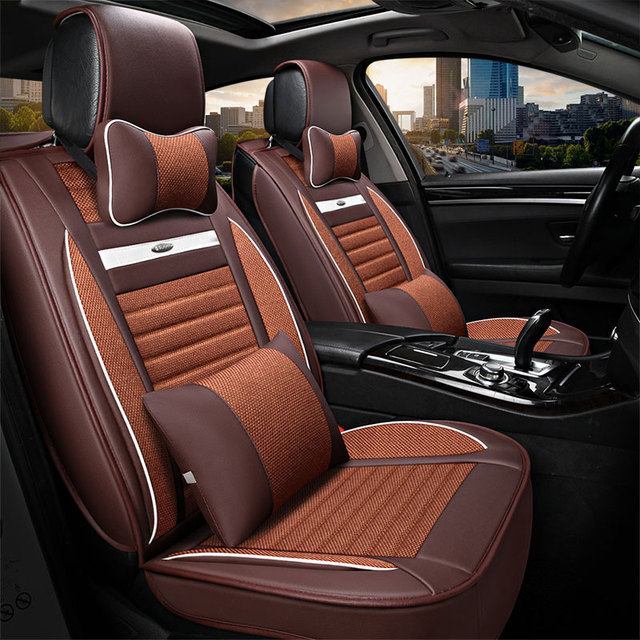 Car Seat Cover Universal Automotive Covers For Nissan Leaf Livina Note Pathfinder Patrol Y61 Primera Sunny Accessories