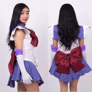 Anime The Sailor Moon Tomoe Hotaru Cosplay Costume Full Set Halloween Stage Party New Fashion Figure Cosplay Suit Drop Ship