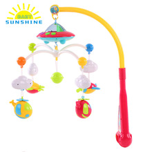 Baby Bed Bell Musical Mobile Crib Bell Dreamful Bed Ring Hanging Rotate Bell Rattle Intelligence Educational Baby Toys