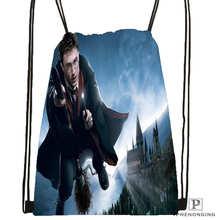Custom harry-potter- Drawstring Backpack Bag for Man Woman Cute Daypack Kids Satchel (Black Back) 31x40cm#20180611-03-158