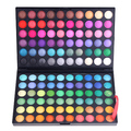 120 completa cores Eyeshadow Palette Kit Mineral Naked Eye sombra Palette Set Maquiagem profissional Maquiagem cosméticos mulheres