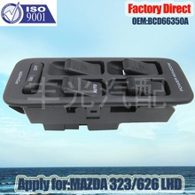 Factory Direct Master Auto Power Window Control Switch apply For MAZDA 323/626 Front Left LHD BCD66350A