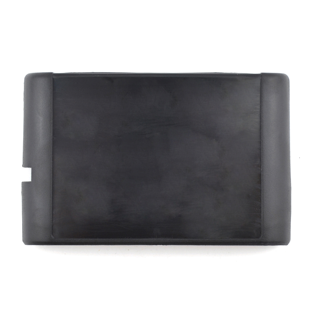 1PCS Replacement Game Cartridge Shell the game card box for SEGA Genesis Mega Drive Black