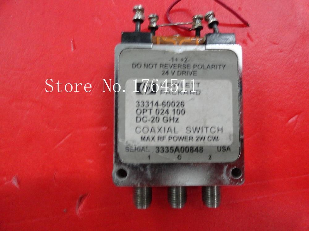 [BELLA] Supply SPDT RF - Original 33314-60026 DC-20GHZ 24V