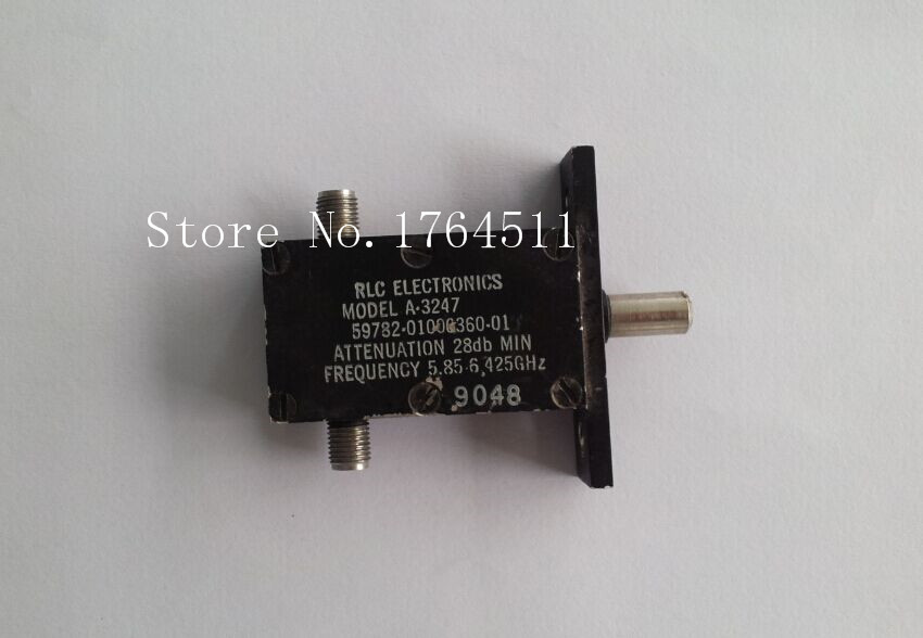 [BELLA] RLC ELECTRONICS A-3247 5.85-6.425GHZ 28dB Hand Adjustable Continuation Variable Attenuator