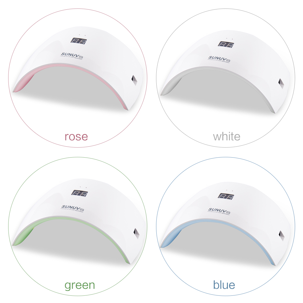 SUN9S LED Lamp Nail 24 W UV Lampen Voor Manicure Art Draagbare - Nagel kunst - Foto 6