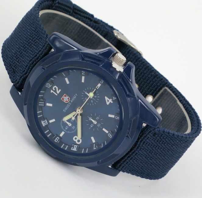 Mode hommes armée militaire cadran armée Sport bracelet montre-bracelet hommes chronographe montre mécanique montres relogio masculino