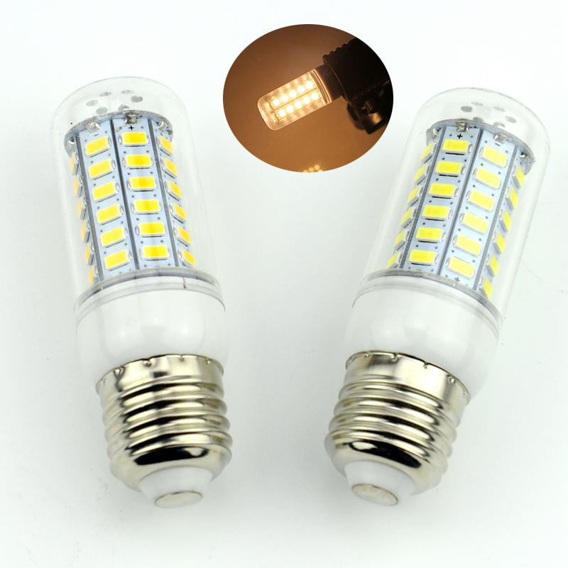 1Pc E27 E14 LED Corn Bulb 220V 110V SMD5730 LED lamp Spotlight 24LED 36LEDs 48LEDs 56LEDs 69LEDs For light