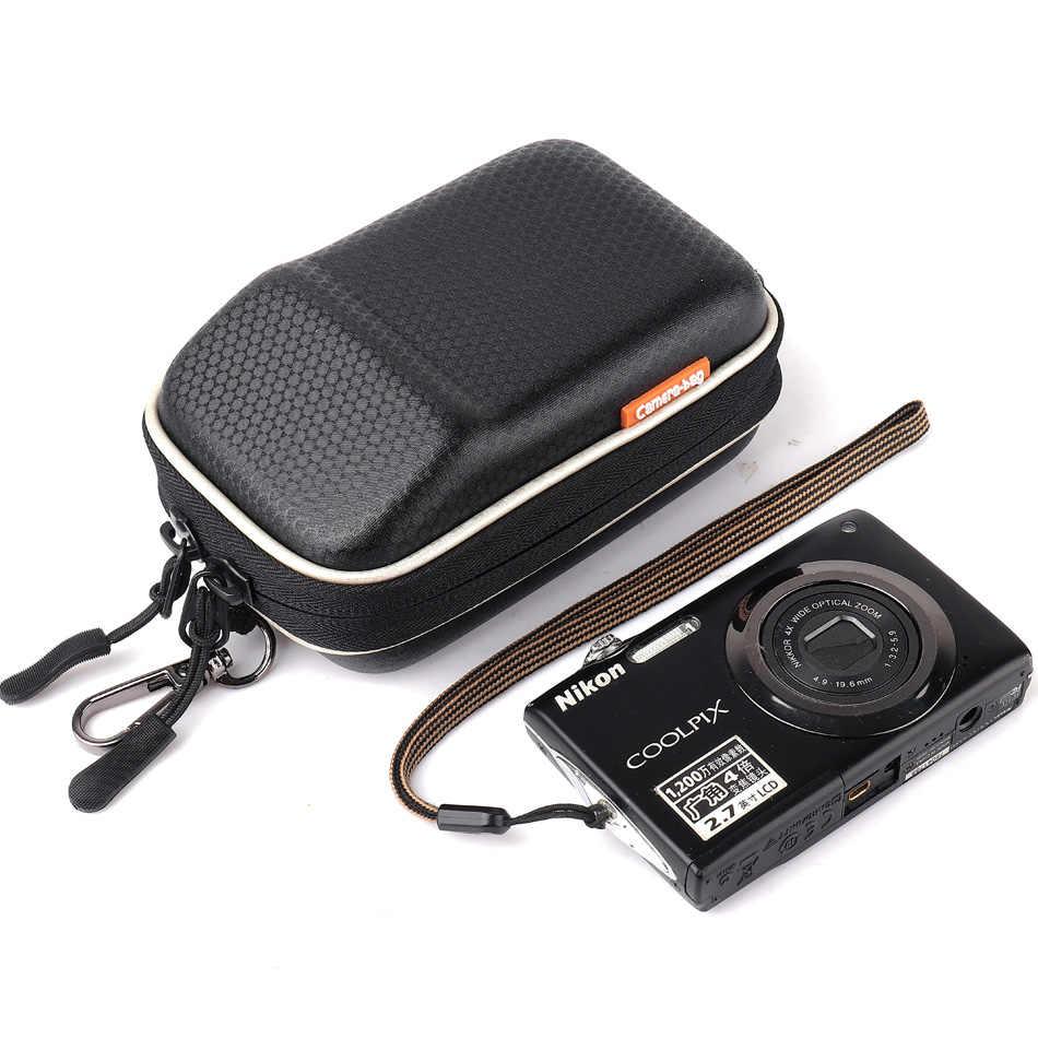 Saco da câmera Caso Duro Capa Para Nikon CoolPix S8600 S8200 S8000 S7000 S6900 S6800 AW110 AW100 A300 A100 A10 L32 l31 Packs Cintura