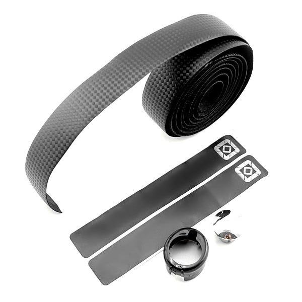 UK Cycling Road Bike Sports Bicycle Cork Handlebar Tape Carbon Fiber Belt Strap