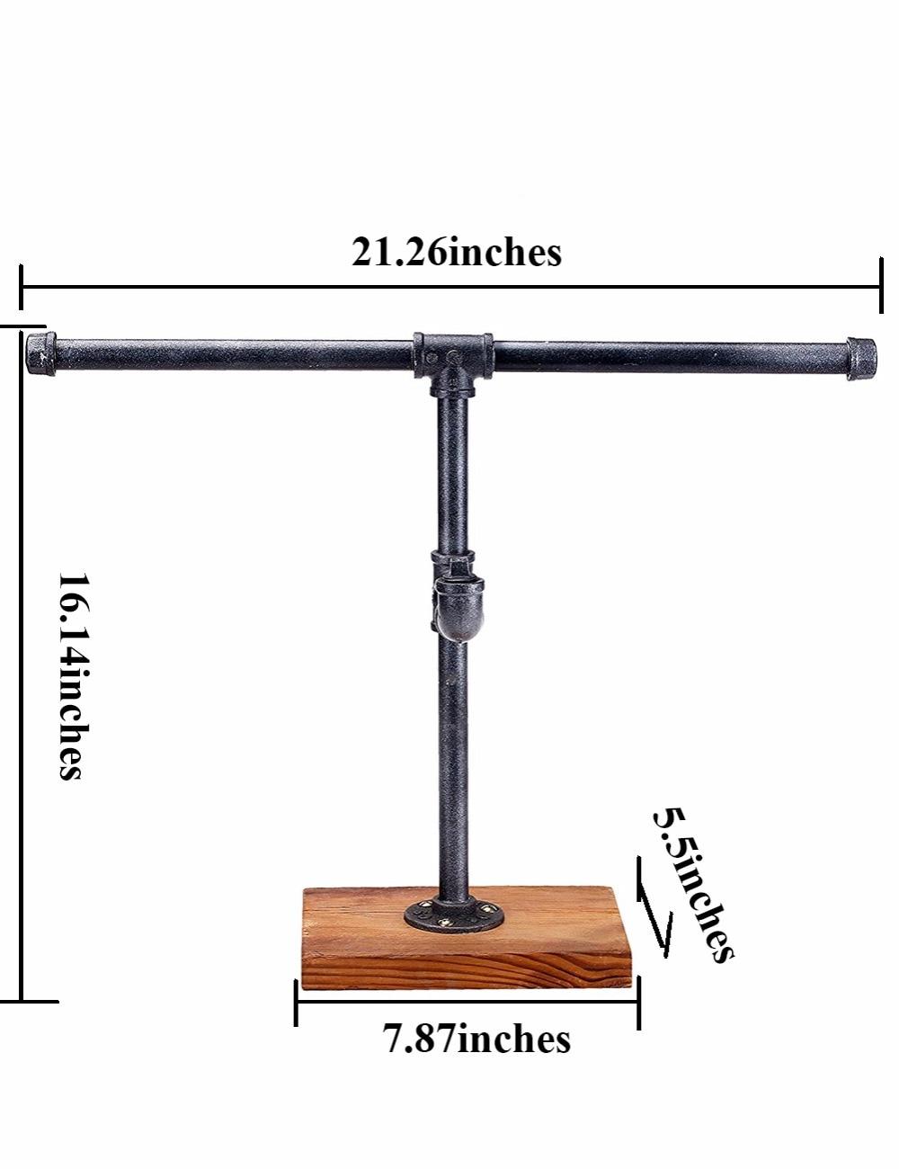 1PC New Arrival T-Bar զարդերի դարակաշարերի - Պահեստավորման եւ կազմակերպումը ի տան - Լուսանկար 5