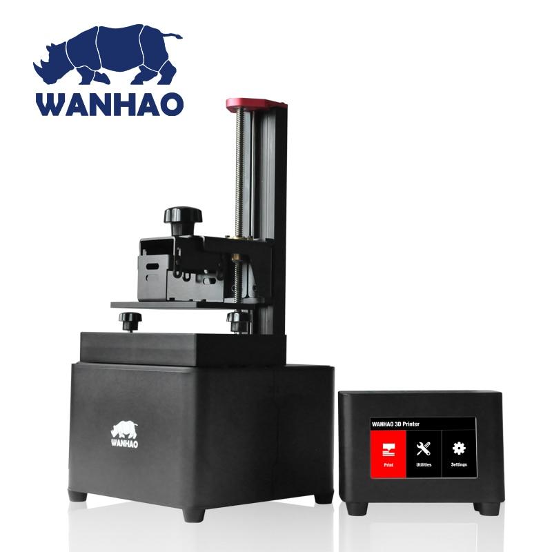 Wanhao Дубликатор D7 DLP/SLA 3d принтер машина, с 250 мл смолы как подарок, высокая точность 3D машины