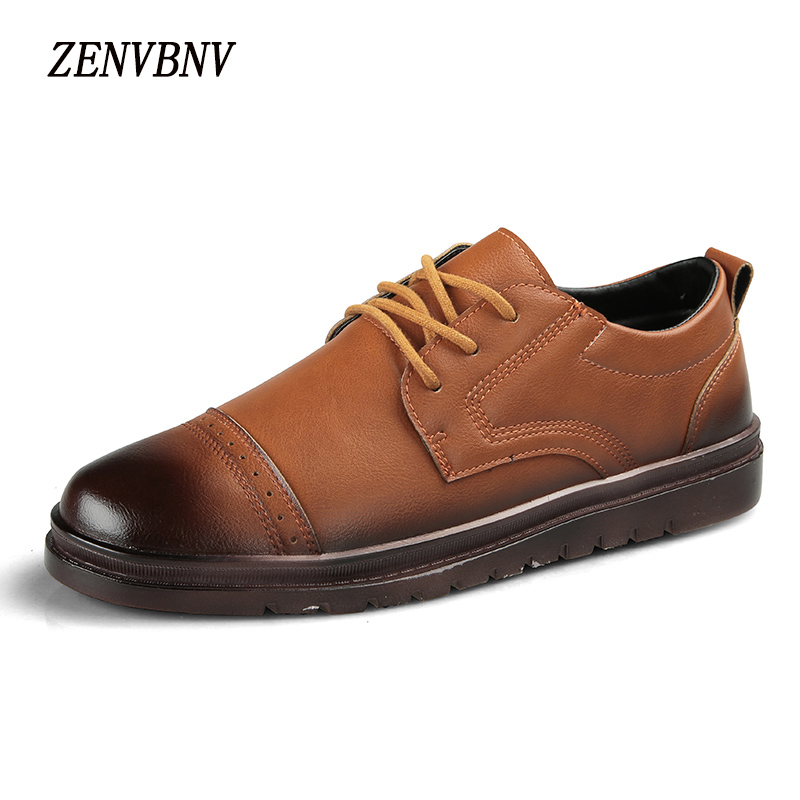 ZENVBNV Brand New Style Retro Style Breathable Men Shoes  High Quality Men Casual Shoes Lace Up Massage Casual Shoes Men 2017 spring brand new fashion pu stretch fabric men casual shoes high quality men casual shoes lace up casual shoes men 1709