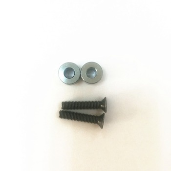 HSP RACING RC CAR ACCESSORIES PART NO. 50022 SPACER AND COUNTERSUNK SCREW FOR 26CC ENGINE