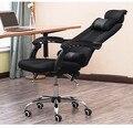 Malha de alta qualidade escritório em casa cadeira de pessoal pode levantar e pode girar pode mentir rotatable computador assento 4 cores opcional.