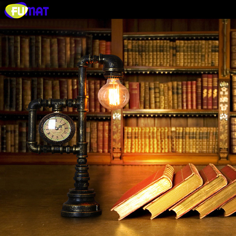 Water Pipe Table Lamp 12