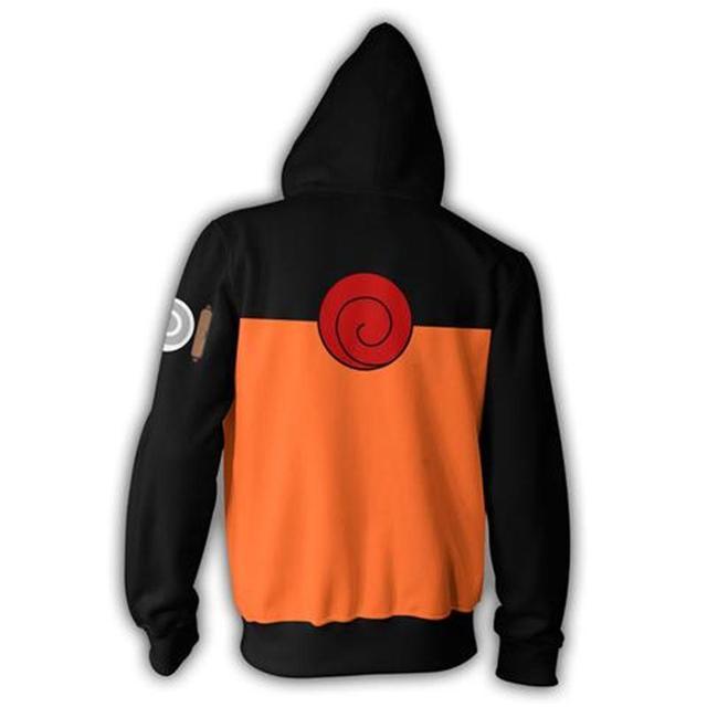 Naruto Uzumaki Zip Up Hoodie