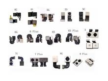 LEOLEO Back Camera Module Rear Main Lens For iPhone 4G 4S 5G 5S 5C 6G 6 Plus 6S Plus 7 Plus 8 Plus X Sensor Proximity Flex Cable цена и фото
