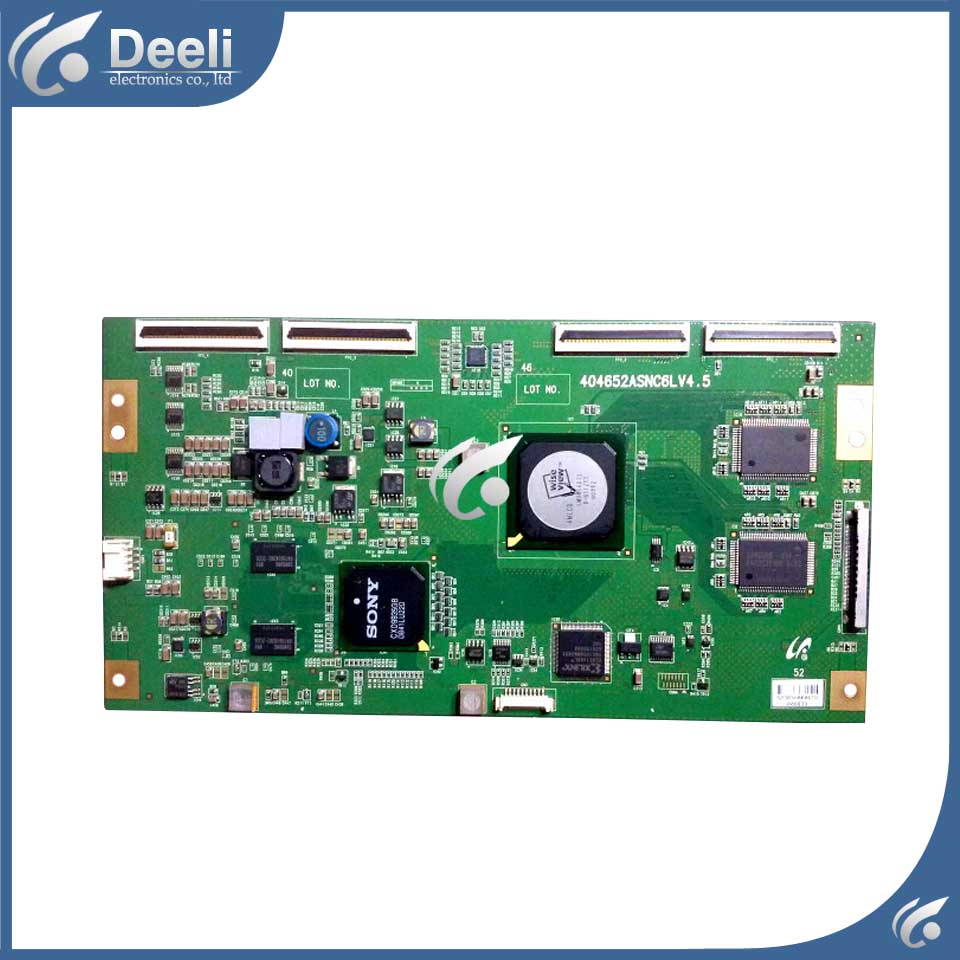 used board KDL-52V4800 404652ASNC6LV4.5 LTY520HE06 Logic board  52 inch 2 e4a ssl4055 rev 1 0 constant board kdl 46 hx720 ex720 kdl 55 used disassemble