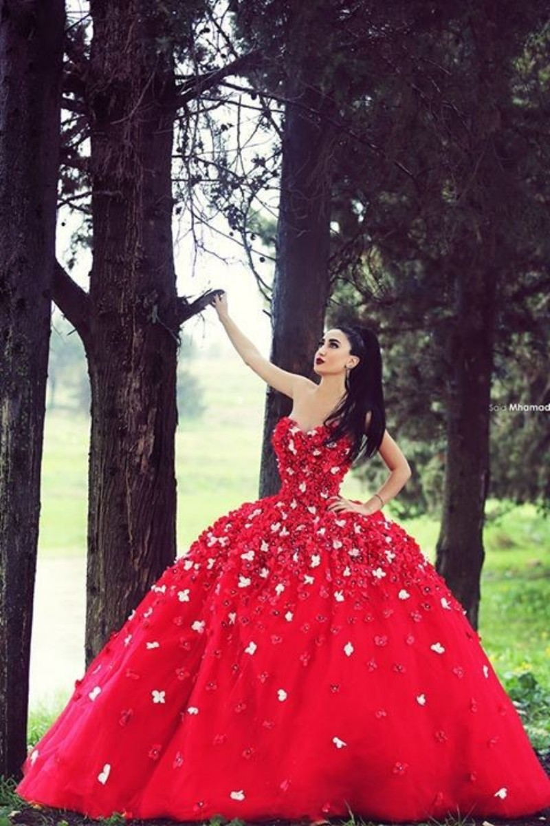 Buy princess muslim luxury red wedding for Where to buy red wedding dress
