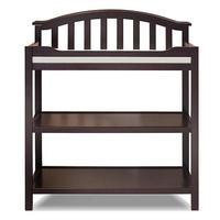 Сосна Младенческая Пеленальный столик с подушкой ремень безопасности, дерево пеленки станции, детские пеленки Пеленальный столик утвердит