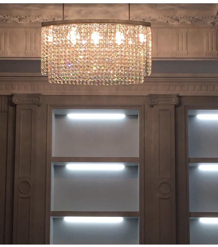 Art Oval Yemək Otağı üçün asma lampa üçün işıqlandırılan - Daxili işıqlandırma - Fotoqrafiya 2