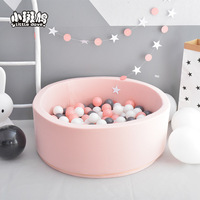 Hot Selling Indoor Eco friendly Foldable Foam Ball Pool Safety Soft Ocean Ball Pool For Children Infant Play Pool Washable