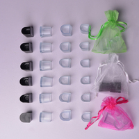 50 Pairs Lot High Heel Protectors Latin Stiletto Dancing Covers Heel Stoppers Antislip Silicone High Heeler