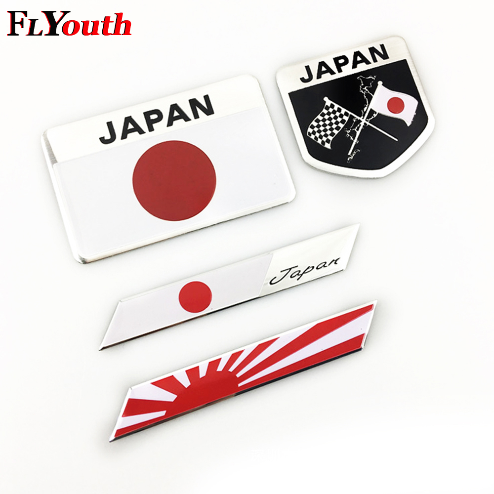 Car Stickers Amiable For Mazda 3 6 Cx-5 323 Cx5 626 Spoilers Mx5 Gh Cx-7 Gg Cx3 Cx7 Rx8 4pcs Japanese Flag Emblem Badge Car Motorcycle Sticker Decal Let Our Commodities Go To The World