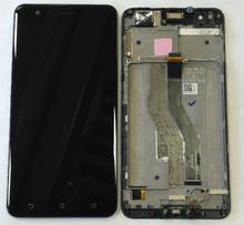 """100% Tested5.5 """"ASUS ZenFone 3 Zoom ZE553KL LCD ekran ekran dokunmatik dijitalleştirici ekran montajı ASUS ZenFone 3 Zoom + araçları"""