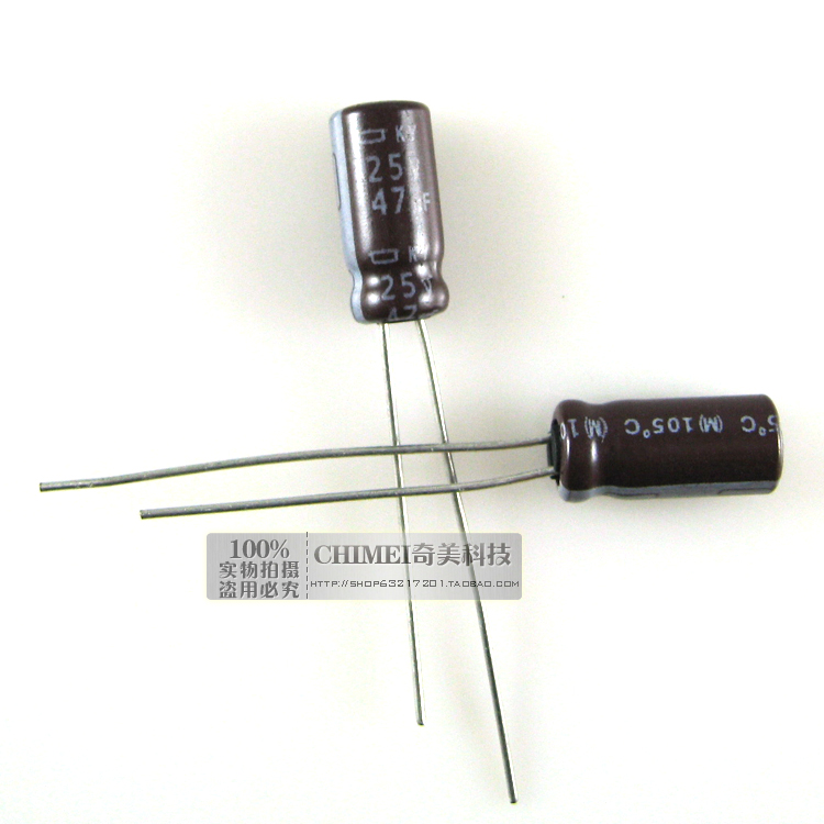 Electrolytic Capacitor 47UF 25V Capacitor