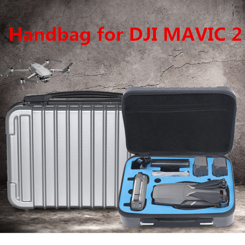 Handbags DJI MAVIC 2 Pro storage bag PC hard shell Case Box For DJI Mavic 2 Zoom Drone 4K protection bag Accessories dji mavic pro 4k квадрокоптер бпла черный