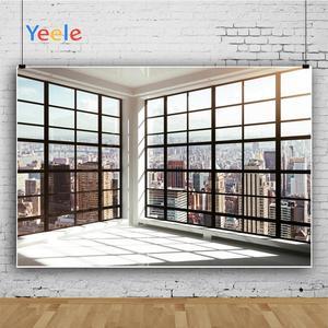 Image 3 - Yeele חלון מסגרת בנייני ברק חדר פנים צילום רקע מותאם אישית צילום תפאורות צילום סטודיו