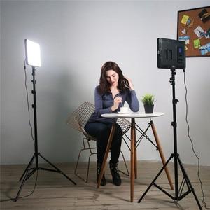 Image 5 - Viltrox VL 400T 40 w câmera led studio luz de vídeo bi color pode ser escurecido + controle remoto para canon nikon facebook youtube mostrar ao vivo