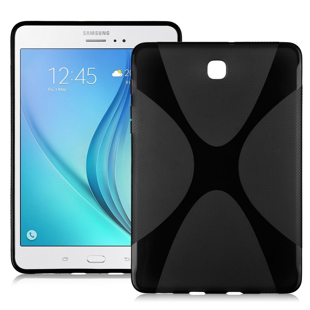 NEW X Line Soft Clear TPU Case Gel Back Cover For Samsung Galaxy Tab S2 S 2 II SII 8.0 Tablet Case T715 T710 T715C Silicon Case s6 5 ips hd mtk6589 smartphone 1gb 16gb 13 0mp android 4 2 3g gps