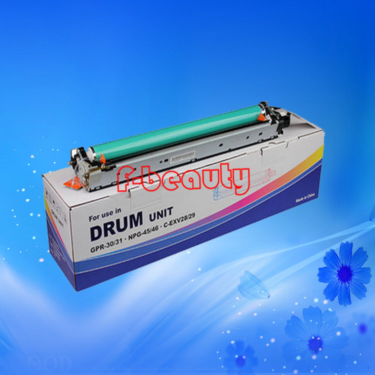 High quality GPR-30/31 NPG-45/46 C-EXV28/29 Color drum unit compatible for canon IR C5030 5035 5045 5051 5235 5240 5250 5255 high quality gpr 18 npg 28 drum unit compatible for canon ir2016 ir2018 ir2020 ir2022 ir2025 ir2030 ir2318l 2016j ir2320 ir2420