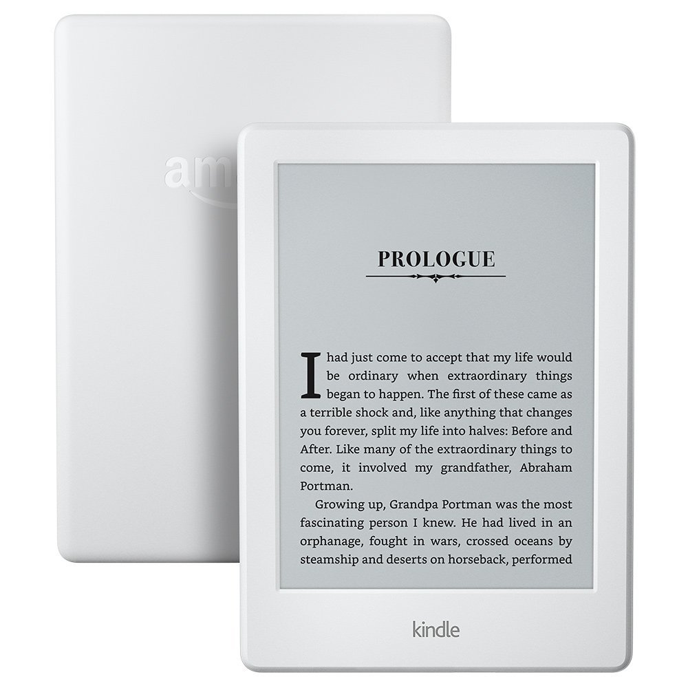 Kindle 8 White 2016 version Touchscreen Display Exclusive Kindle Software Wi-Fi 4GB eBook e-ink screen 6-inch e-Book Readers ...
