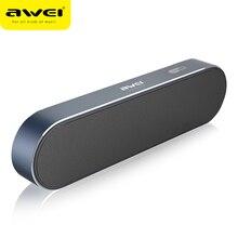 Awei Y220 Bluetooth динамик портативный беспроводной динамик двойной драйвер калонки звуковая коробка Blutooth Бумбокс для телефонов 3D стерео