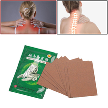 8pcs  White Tiger Balm Medical Patch For Joint Pain Neck Pads Arthritis Knee Relieving Patches G07002