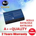 Wholesale New 8 cells laptop battery FOR Acer Aspire 3100  5100  5630 9110  BATBL50L6  BATBL50L8 BATBL50L8H free shipping
