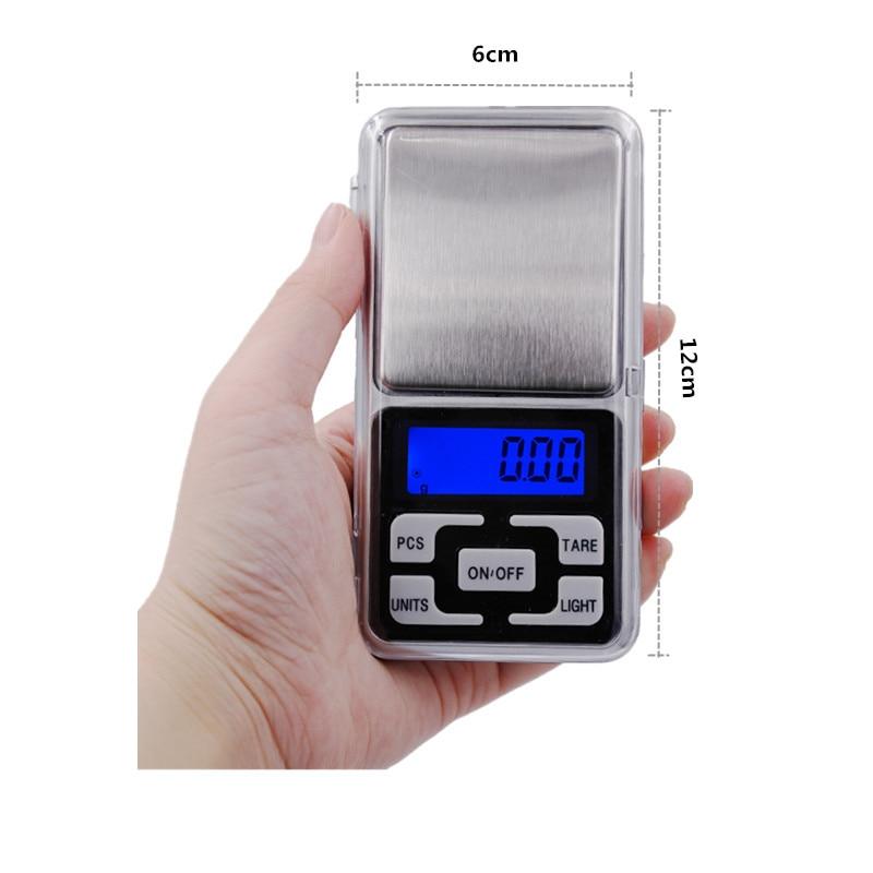 1db 300g / 500g 0,01g 1000g 0,1g Scale Elektronikus Mini Digitális - Mérőműszerek - Fénykép 3