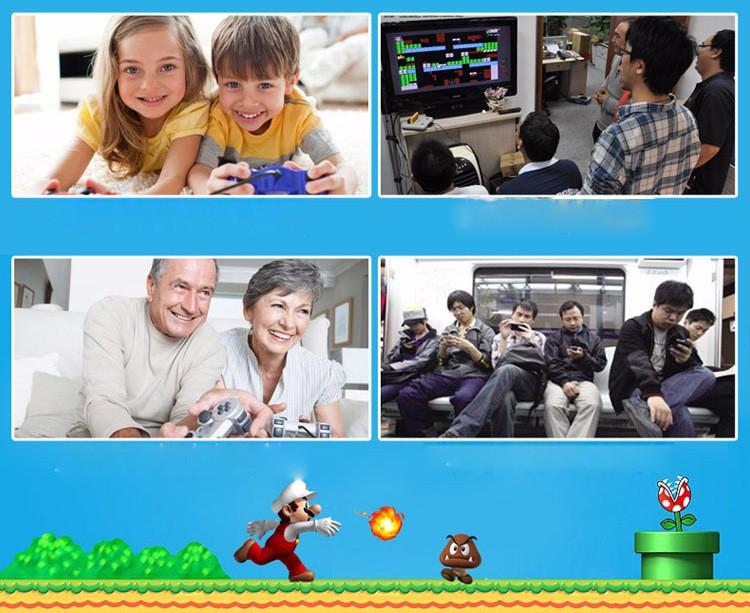 Nes Mini Tetris Video Game Console Electronic Handheld Games Retro Brick Game Consola De Jeu 2016 3.2Inch Video Games Player (2)