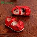 Muchacha de los niños flor shoes shoes for girls 3 de primavera de color bebé LA muchacha de LA PU de Cuero de La Perla Calzado para 0-2 Años de Edad Infantil Menina