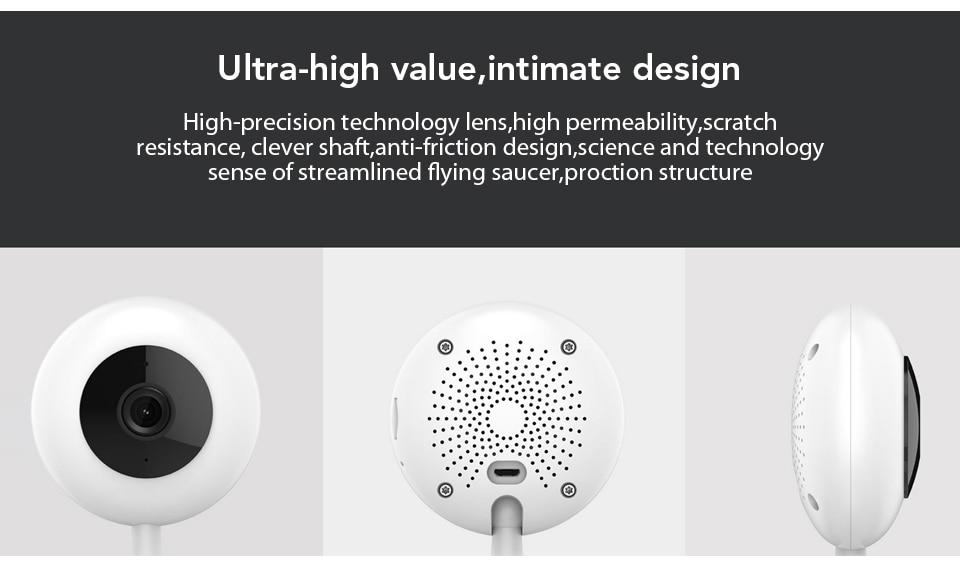 Xiaomi Mijia Xiaobai Smart Camera Popular Version 720P HD Wireless Wifi Infrared Night Vision 100.4 Degree IP Home Cam CCTV (12)