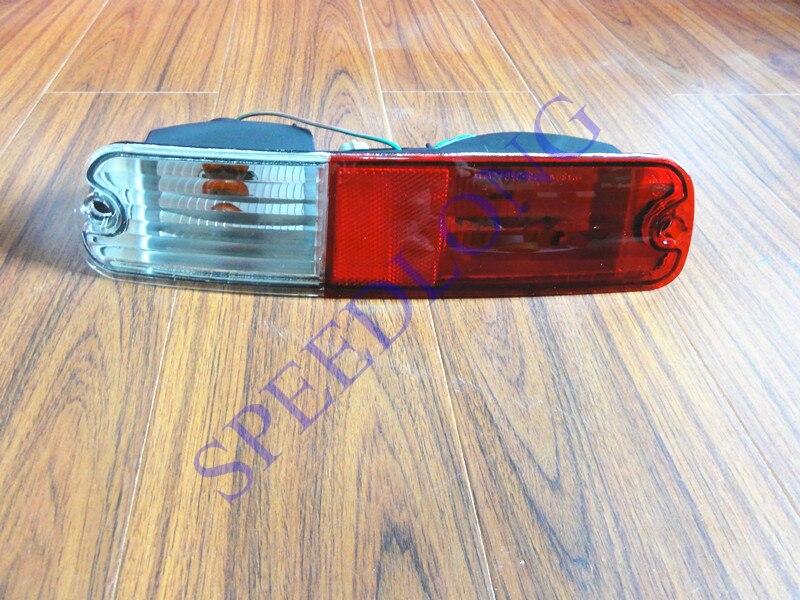 ФОТО 1 PC RH Tail bumper fog light for Mitsubishi Pajero NP 2002-2006
