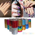 High Quality 1 Roll Fashion Designed Nail Art Transfer Foil Paper Nail Sticker Tip Decoration  6PZ5 7H36