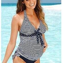 3407b4335041 2019 Nuova Estate di Usura Della Spiaggia Delle Donne Costumi Da Bagno  Maternità Bikini Più Il Formato Maxi Costumi 2 PCs Costum.